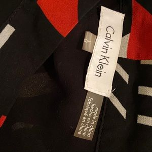 Calvin Klein Tops - Calvin Klein with bow tie neck and bell sleeve